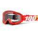 100% Strata Goggles röd